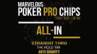 Marvelous Poker Pro Chips All In -Series One (Gimmicks and Online Instructions) by Matthew Wright